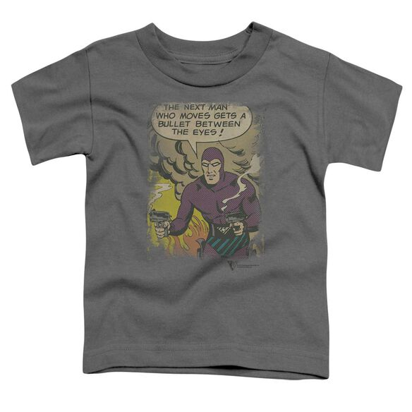 Phantom Blunt Short Sleeve Toddler Tee Charcoal T-Shirt