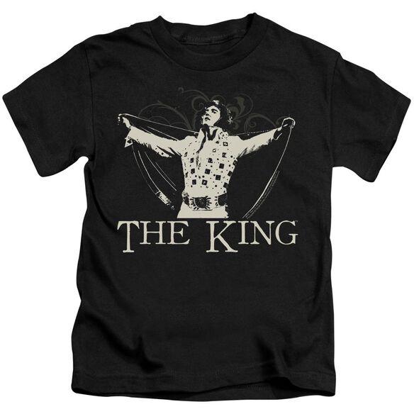 ELVIS PRESLEY ORNATE KING-S/S T-Shirt