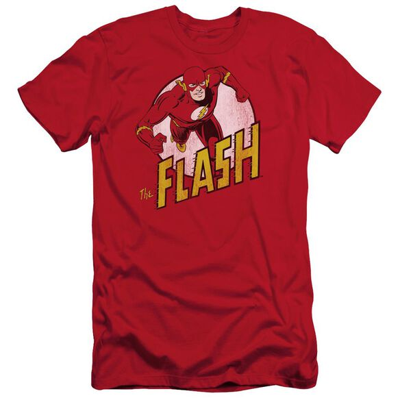 DC FLASH THE FLASH - S/S ADULT 30/1 - RED T-Shirt