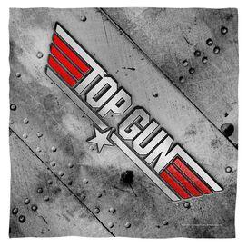 Top Gun Logo Bandana White