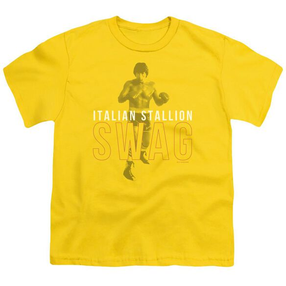 Rocky Stallion Swag Short Sleeve Youth T-Shirt