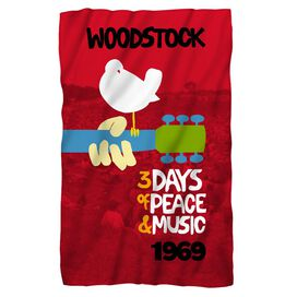 Woodstock Classic Fleece Blanket