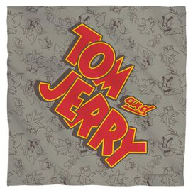 Tom And Jerry Logo Bandana
