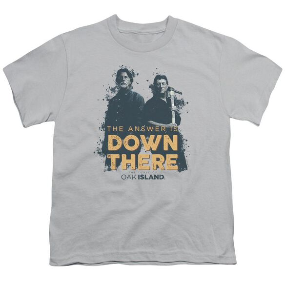 The Curse Of Oak Island Down There Short Sleeve Youth T-Shirt