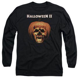 Halloween Ii Pumpkin Shell Long Sleeve Adult T-Shirt