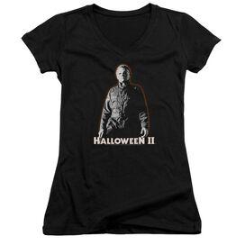 Halloween Ii Michael Myers Junior V Neck T-Shirt