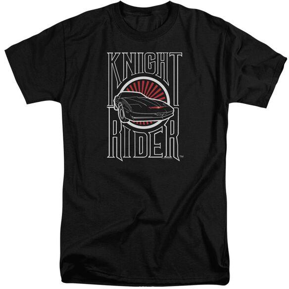 Knight Rider Logo Short Sleeve Adult Tall T-Shirt