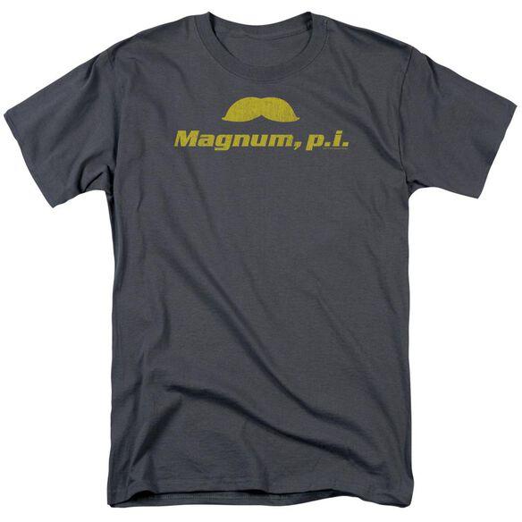 Magnum Pi The Stache Short Sleeve Adult T-Shirt