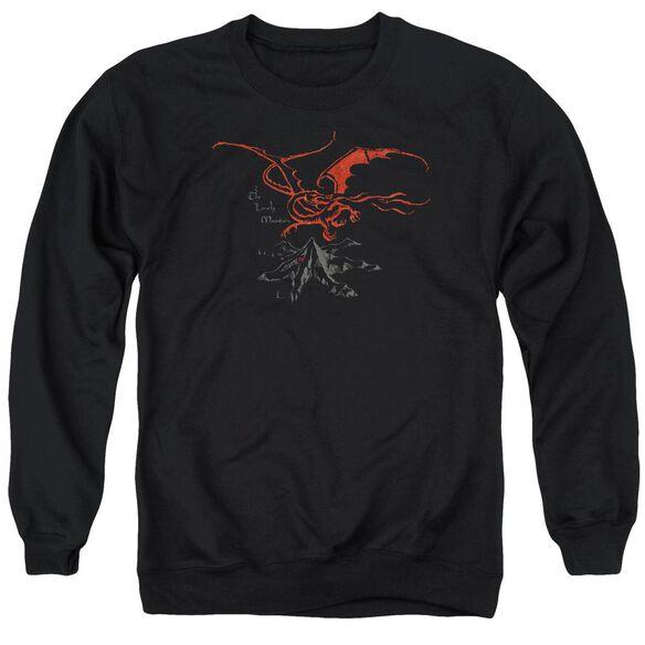 The Hobbit Smaug Adult Crewneck Sweatshirt