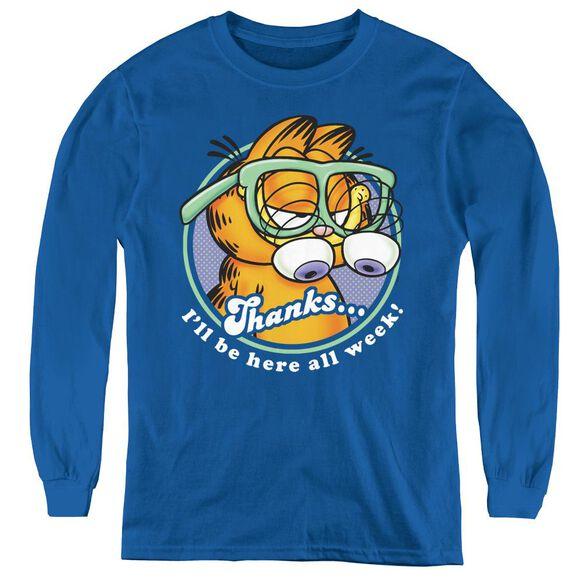 Garfield Performing - Youth Long Sleeve Tee -