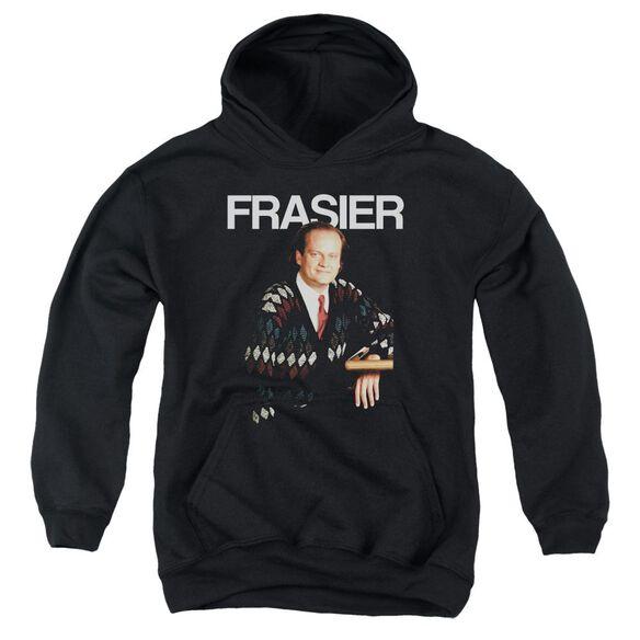 Cheers Frasier-youth Pull-over Hoodie - Black
