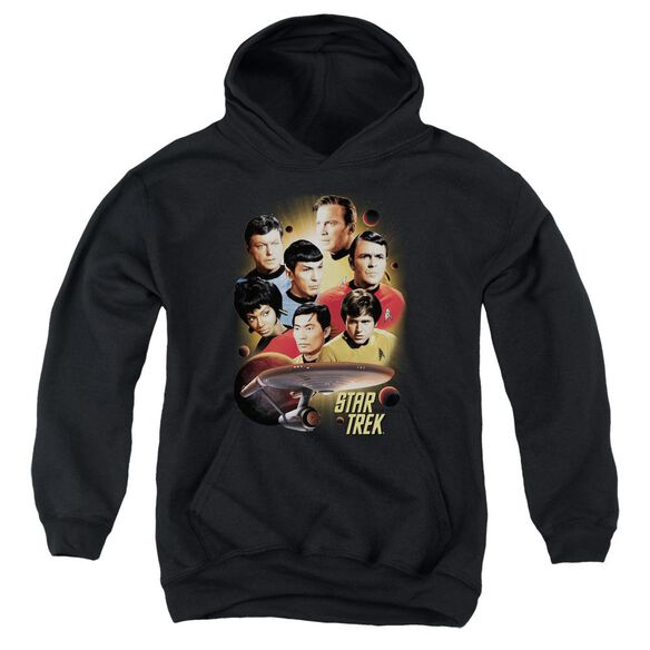Star Trek Heart Of The Enterprise Youth Pull Over Hoodie