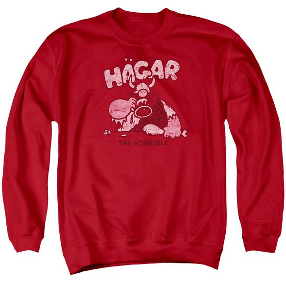 Hagar The Horrible Hagar Gulp Adult Crewneck Sweatshirt