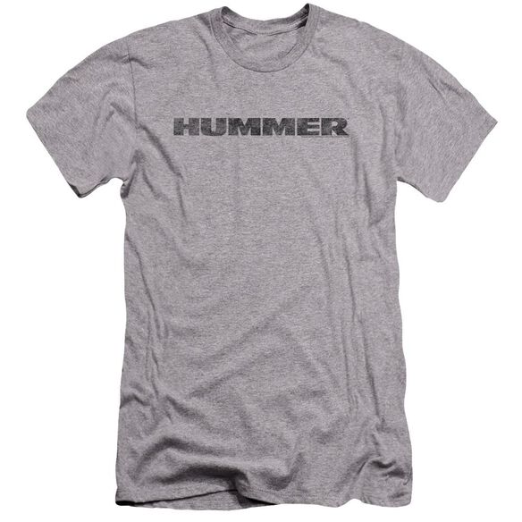 Hummer Distressed Hummer Logo Premuim Canvas Adult Slim Fit Athletic