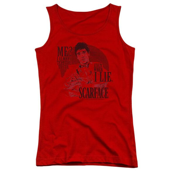 Scarface Truth Juniors Tank Top