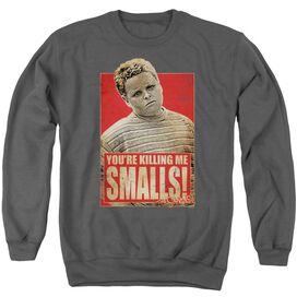 Sandlot Smalls Adult Crewneck Sweatshirt Gray Md Fye