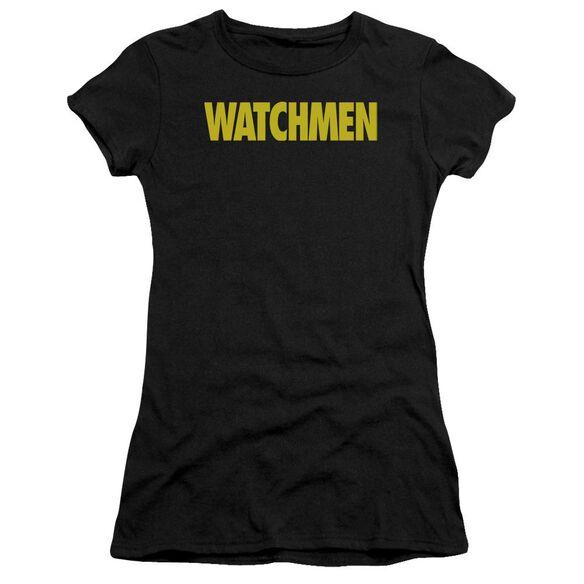 Watchmen Logo Premium Bella Junior Sheer Jersey