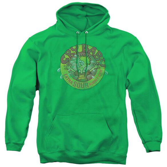 Dubble Bubble Logo - Adult Pull-over Hoodie - Kelly Green