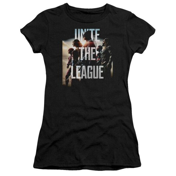 Justice League Movie Dawn Short Sleeve Junior Sheer T-Shirt