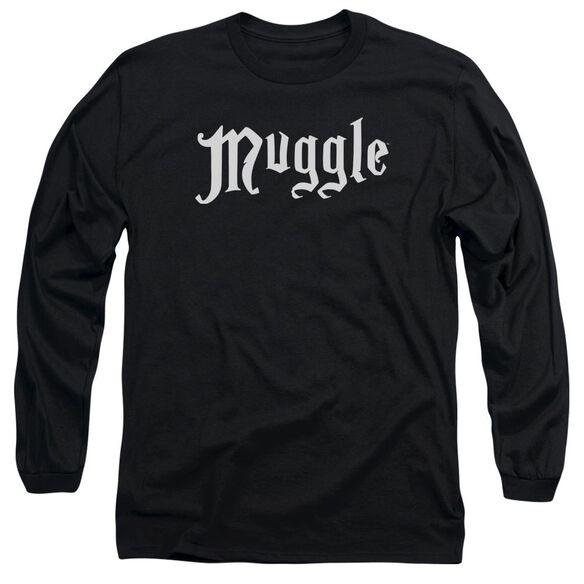 Harry Potter Muggle Long Sleeve Adult T-Shirt