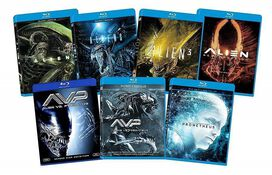 Alien 7-Film Franchise Collection [Blu-ray]