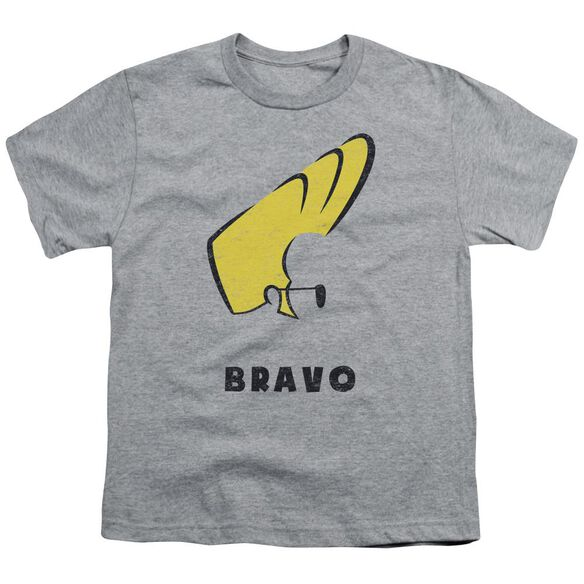 Johnny Bravo Johnny Hair Short Sleeve Youth Athletic T-Shirt