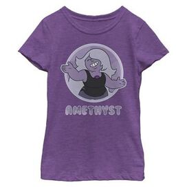 Steven Universe Amethyst Youth Girls Shirt