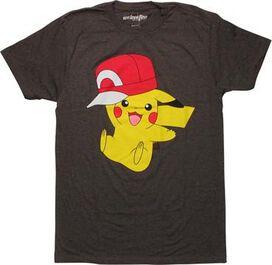 Pokemon Pikachu Wearing Hat T-Shirt