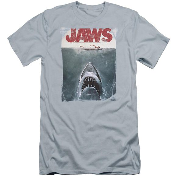 Jaws Title Premuim Canvas Adult Slim Fit Light