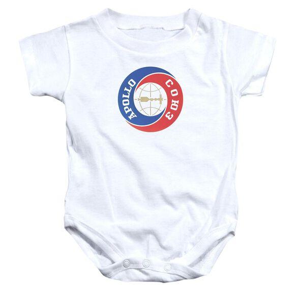 Nasa Apollo Soyuz Infant Snapsuit White