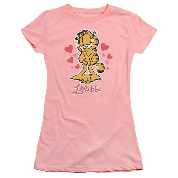 Garfield Lovable Premium Bella Junior Sheer Jersey