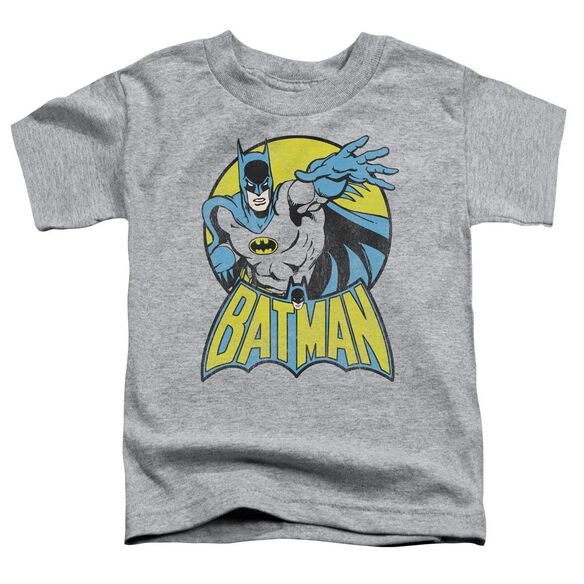 Dc Batman Short Sleeve Toddler Tee Athletic Heather Lg T-Shirt
