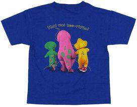 Barney Lets Go Juvenile T-Shirt