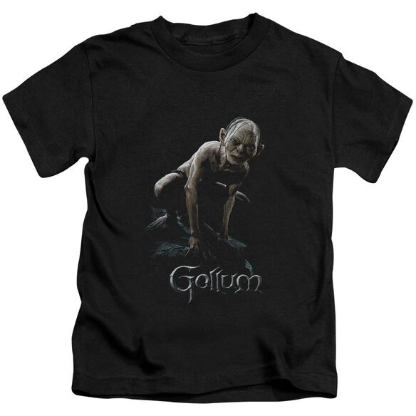 Lor Gollum Short Sleeve Juvenile Black Md T-Shirt