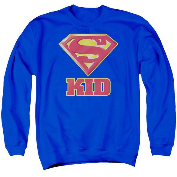 Superman Super Kid - Adult Crewneck Sweatshirt -