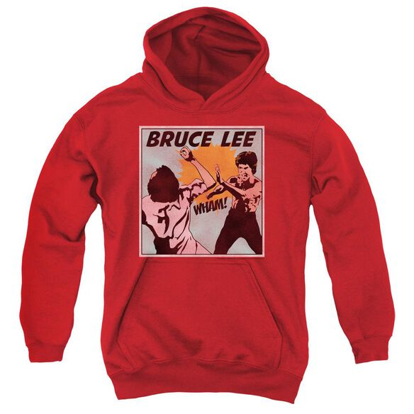 Bruce Lee Comic Panel Youth Pull Over Hoodie