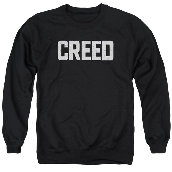 Creed Cracked Logo Adult Crewneck Sweatshirt