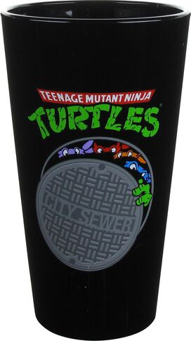 Ninja Turtles Stacked Bars Pint Glass