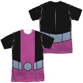 Teen Titans Go Beast Boy Uniform (Front Back Print) Short Sleeve Adult Poly Crew T-Shirt