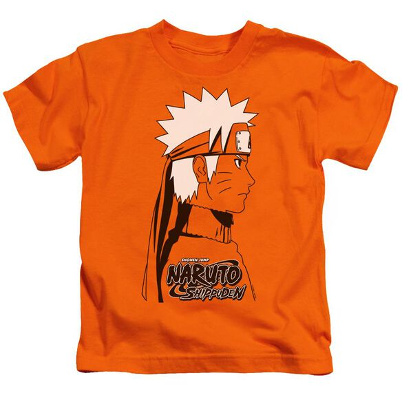 Naruto Shippuden Naruto Distressed Short Sleeve Juvenile T-Shirt