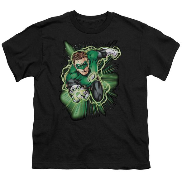 Jla Green Lantern Energy Short Sleeve Youth T-Shirt