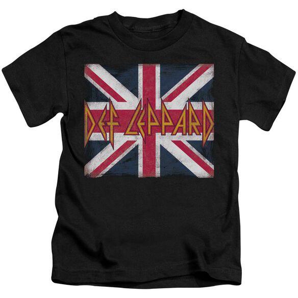 Def Leppard Union Jack Short Sleeve Juvenile T-Shirt