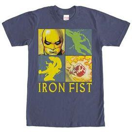 Iron Fist Box Quad T-Shirt
