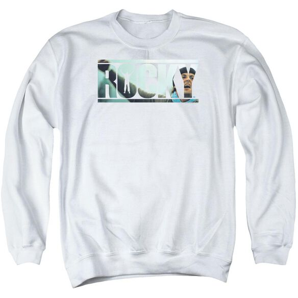 Rocky Cutout Logo Adult Crewneck Sweatshirt