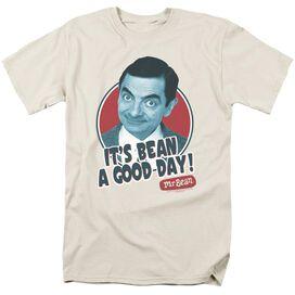 Mr Bean Good Day Short Sleeve Adult Cream T-Shirt