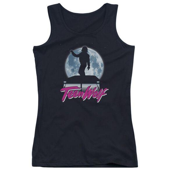 Teen Wolf Moonlight Surf Juniors Tank Top
