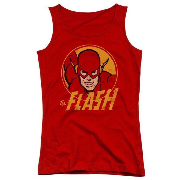 Dc Flash Flash Circle Juniors Tank Top
