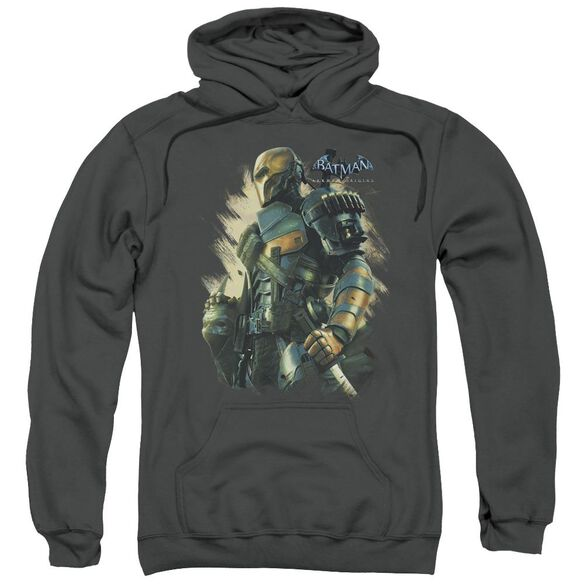 Batman Arkham Origins Deathstroke Adult Pull Over Hoodie