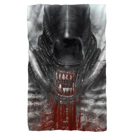 Alien Blood Drool Fleece Blanket