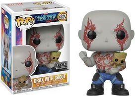 Funko Pop!: Guardians of the Galaxy Vol. 2 - Drax with Groot